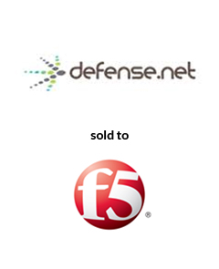 AGC Partners Advises Defense.Net on its Sale to F5 Networks Tombstone